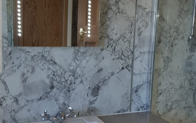 Mermaid Shower Panels & PJH Bathroom Furniture